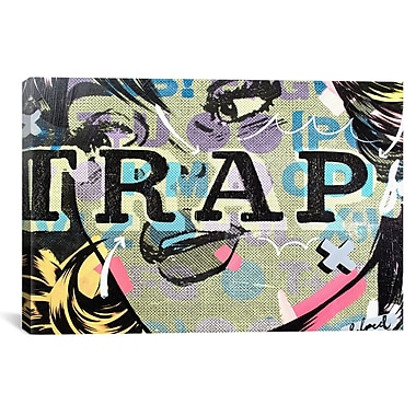 iCanvas Trap by Dan Monteavaro Graphic Art on Wrapped Canvas; 26'' H x 40'' W x 0.75'' D