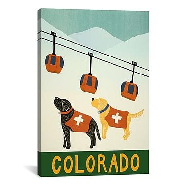iCanvas Colorado Ski Patrol Canvas Art; 61'' H x 41'' W x 1.5'' D
