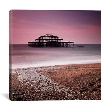 iCanvas Nina Papiorek Brighton Pier Photographic Print on Wrapped Canvas; 27'' H x 27'' W x 1.5'' D