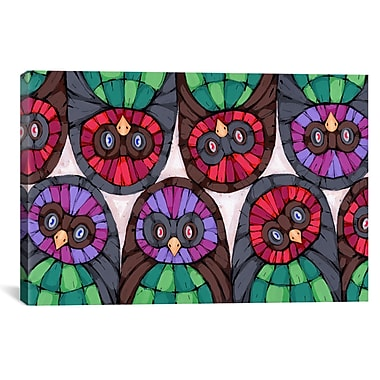 iCanvas Ric Stultz All Eyes On You Graphic Art on Wrapped Canvas; 12'' H x 18'' W x 0.75'' D