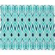 DENY Designs Amy Sia Ikat Jade Polyesterrr Fleece Throw Blanket; Large