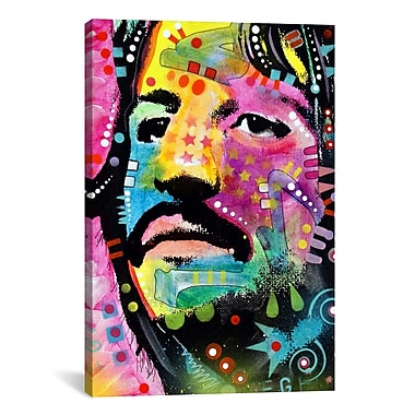 iCanvas Dean Russo Ringo Starr Graphic Art on Wrapped Canvas; 61'' H x 41'' W x 1.5'' D
