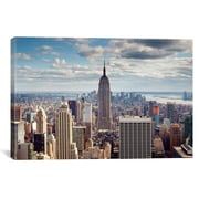 iCanvas New York City The Empire by Nina Papiorek Photographic Print on Wrapped Canvas