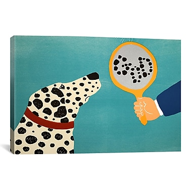 iCanvas Mirror Image Of Dog by Stephen Huneck Painting Print on Wrapped Canvas