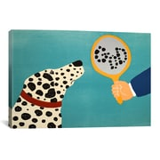 iCanvas Mirror Image Of Dog Canvas Wall Art by Stephen Huneck; 12'' H x 18'' W x 0.75'' D
