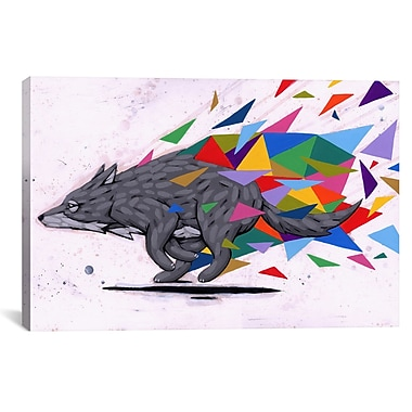iCanvas Ric Stultz Break On Thru Graphic Art on Wrapped Canvas; 26'' H x 40'' W x 0.75'' D