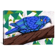 iCanvas Ric Stultz Bluest Bird Canvas Print Wall Art; 41'' H x 61'' W x 1.5'' D