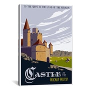 iCanvas Witche's Castle Travel Canvas Print Wall Art; 18'' H x 12'' W x 0.75'' D