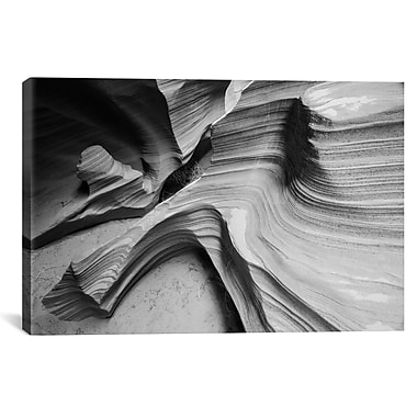 iCanvas 'Snake Canyon' by Moises Levy Photographic Print on Canvas; 27'' H x 41'' W x 1.5'' D