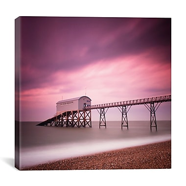iCanvas Nina Papiorek Selsey Lifeboat Station Photographic Print on Wrapped Canvas