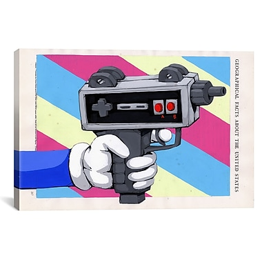 iCanvas Done Playing Games by Ric Stultz Graphic Art on Wrapped Canvas; 26'' H x 40'' W x 0.75'' D