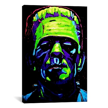 iCanvas Frankenstein Club 001 by Rock Demarco Painting Print on Wrapped Canvas