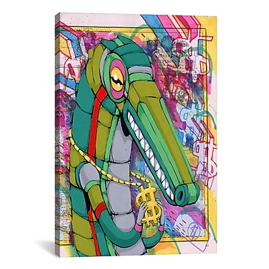 iCanvas Ric Stultz Raised On The Dollar Graphic Art on Wrapped Canvas; 41'' H x 27'' W x 1.5'' D