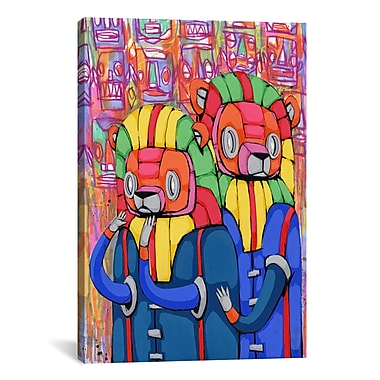iCanvas Ric Stultz Remain Calm My Friend Graphic Art on Wrapped Canvas; 61'' H x 41'' W x 1.5'' D