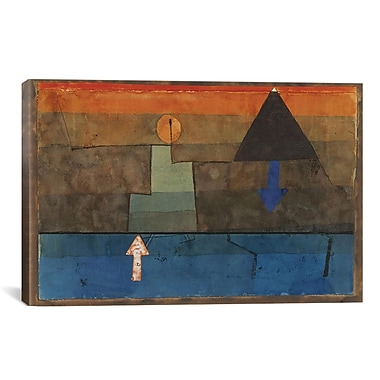 iCanvas ''Contrasts 1924-1925'' by Paul Klee Paiting Print on Canvas; 26'' H x 40'' W x 0.75'' D