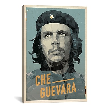 iCanvas American Flat Che Graphic Art on Wrapped Canvas; 61'' H x 41'' W x 1.5'' D
