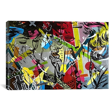 iCanvas This is Only by Dan Monteavaro Graphic Art on Wrapped Canvas; 27'' H x 41'' W x 1.5'' D