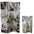 Entrada 71'' x 48'' Marilyn Monroe 3 Panel Room Divider