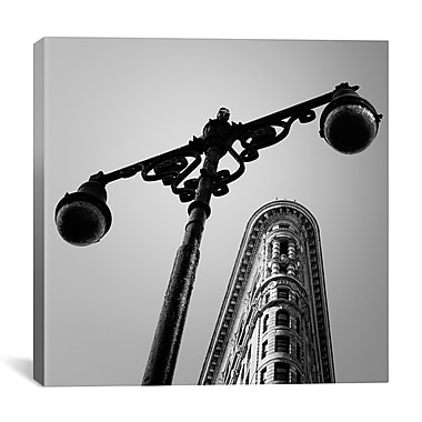 iCanvas New York City Flat Iron by Nina Papiorek Photographic Print on Wrapped Canvas