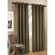 Commonwealth Home Fashions Cotton Grommet Top Single Curtain Panel; 95'' L x 54'' W