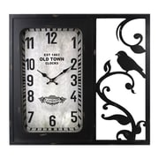 Entrada Old Town Metal Wall Clock