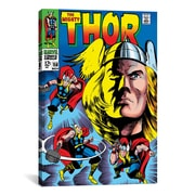 iCanvas Marvel Comics Book Thor Issue Cover 158 Graphic Art on Canvas; 18'' H x 12'' W x 0.75'' D
