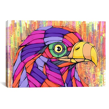 iCanvas Eye of the Beholder by Ric Stultz Graphic Art on Wrapped Canvas; 12'' H x 18'' W x 0.75'' D