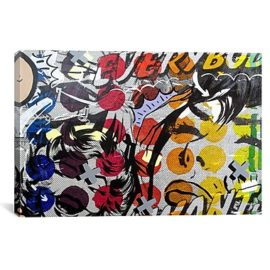 iCanvas Everybody Wants by Dan Monteavaro Graphic Art on Wrapped Canvas; 27'' H x 41'' W x 1.5'' D