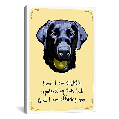 iCanvas Thoughful Lab by Tiny Confessions Graphic Art on Wrapped Canvas; 26'' H x 18'' W x 0.75'' D