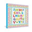 DENY Designs Alphabet Monsters by Andi Bird Canvas Art; 30'' H x 30'' W x 1.5'' D