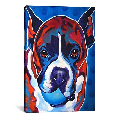 iCanvas DawgArt Atticus Painting Print on Wrapped Canvas; 18'' H x 12'' W x 0.75'' D