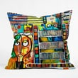 DENY Designs Robin Faye Gates Polyester Musical Chairs Indoor / Outdoor Throw Pillow; 18''