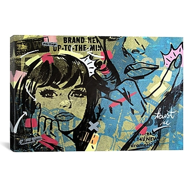 iCanvas New Dramatic by Dan Monteavaro Graphic Art on Wrapped Canvas; 18'' H x 26'' W x 0.75'' D