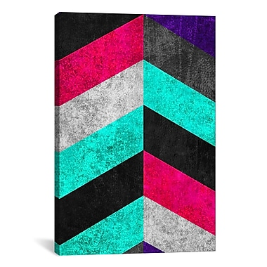 iCanvas Geometric Mundo C Graphic Art on Canvas; 40'' H x 26'' W x 0.75'' D