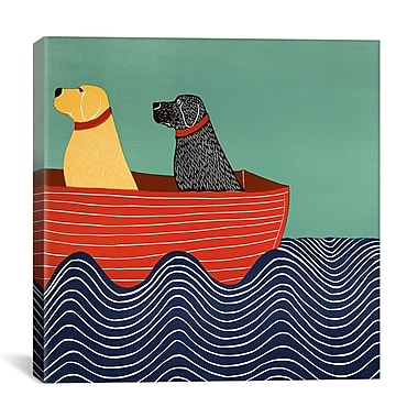 iCanvas Friendship 2A Painting Print on Wrapped Canvas; 18'' H x 18'' W x 0.75'' D