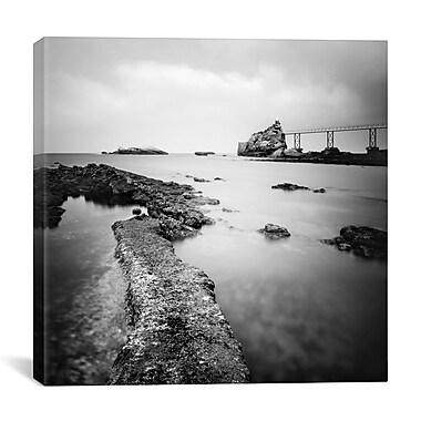 iCanvas Nina Papiorek Biarritz Photographic Print on Wrapped Canvas; 18'' H x 18'' W x 0.75'' D