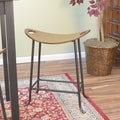 Carolina Cottage Bryson Scoup 24'' Bar Stool