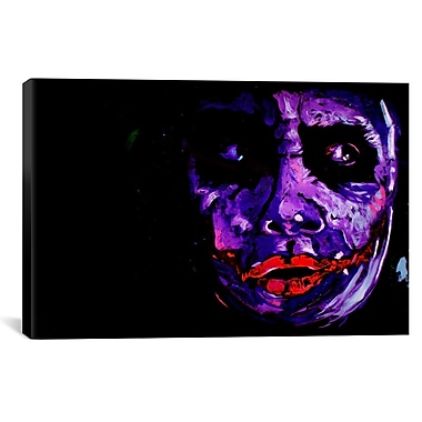 iCanvas Heath Ledger 001 Painting Print on Canvas; 26'' H x 40'' W x 0.75'' D