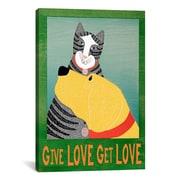 iCanvas Give Love Get Love Canvas Print Wall Art; 26'' H x 26'' W x 1.5'' D
