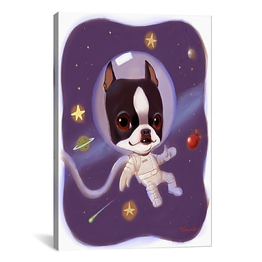 iCanvas Brian Rubenacker Astronaut Graphic Art on Wrapped Canvas; 40'' H x 26'' W x 0.75'' D