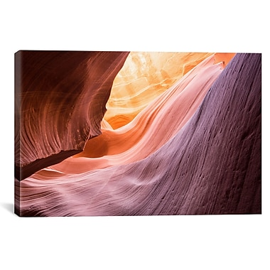iCanvas 'The Lower Wave I' by Moises Levy Photographic Print on Wrapped Canvas