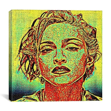 iCanvas Requiem Madonna by Maximilian San Graphic Art on Wrapped Canvas; 18'' H x 18'' W x 0.75'' D