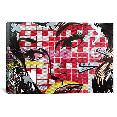iCanvas If You Can by Dan Monteavaro Graphic Art on Wrapped Canvas; 27'' H x 41'' W x 1.5'' D