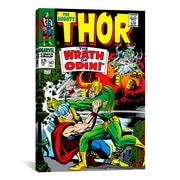iCanvas Marvel Comic Book Thor Issue Cover #147 Graphic Art on Canvas; 18'' H x 12'' W x 0.75'' D