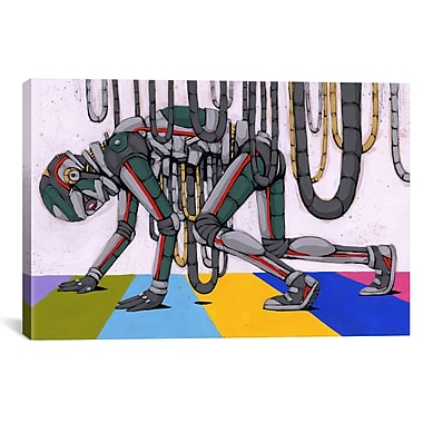 iCanvas Ric Stultz Spilling My Guts Graphic Art on Wrapped Canvas; 18'' H x 26'' W x 0.75'' D