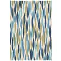 Waverly Sun N' Shade Seaglass Outdoor Rug; 7'9'' x 10'10''