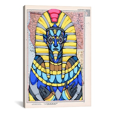 iCanvas Ric Stultz American Pharaoh Graphic Art on Wrapped Canvas; 26'' H x 18'' W x 0.75'' D