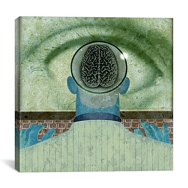 iCanvas Minds Eye by Anthony Freda Graphic Art on Wrapped Canvas; 27'' H x 27'' W x 1.5'' D