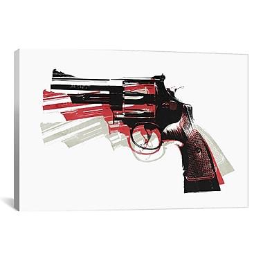 iCanvas Michael Thompsett Revolver II Graphic Art on Wrapped Canvas; 18'' H x 26'' W x 0.75'' D