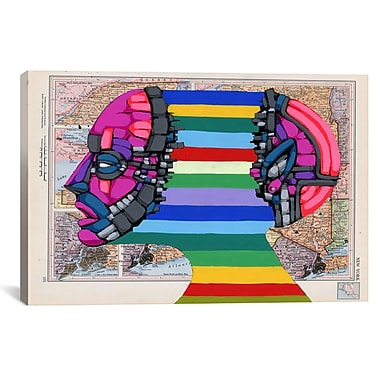 iCanvas Expanding Mind by Ric Stultz Graphic Art on Wrapped Canvas; 27'' H x 41'' W x 1.5'' D